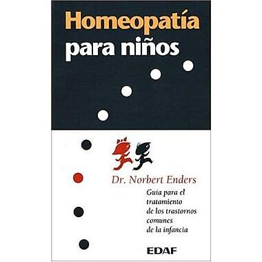 Homeopatía para ninos, New Book (9788476409756)