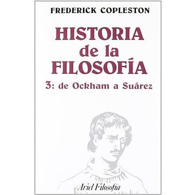Historia de La Filosofia III (Spanish Edition) (9788434487239)