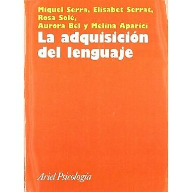 La adquisición del lenguaje (9788434408852)