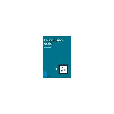 LA Exclusion Social (Spanish Edition), Used Book (9788434442641)