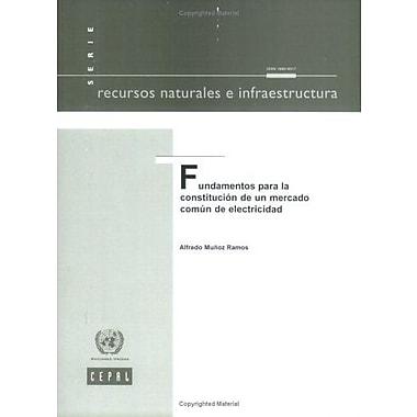 Fundamentos para la Constitución de un Mercado Comun de Electricidad(Recursos Naturales e Infra, New Book (9789213225509)