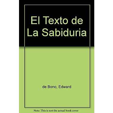 El Texto de La Sabiduria (Spanish Edition), New Book (9789580439356)