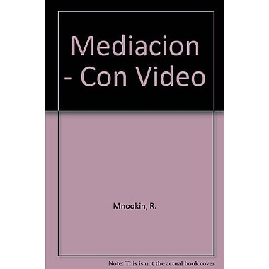 Mediacion - Con Video (Spanish Edition), Used Book (9789502306575)