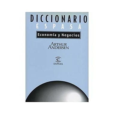 Diccionario de Economía y Negocios (incluye CD) (Spanish Edition), New Book (9788423990771)