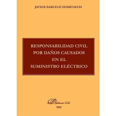 Responsabilidad Civil Por Danos Causados En El Suministro ElEctrico (Spanish Edition) (9788498493740)