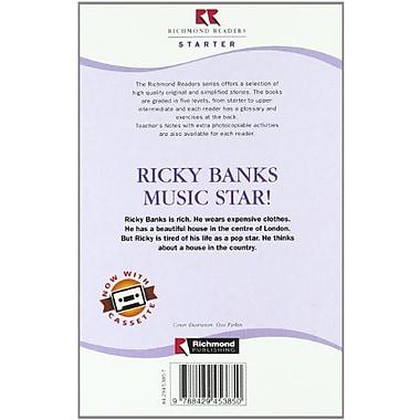 Ricky Banks Music Star! - Starter Level (Spanish Edition), New Book (9788429453850)