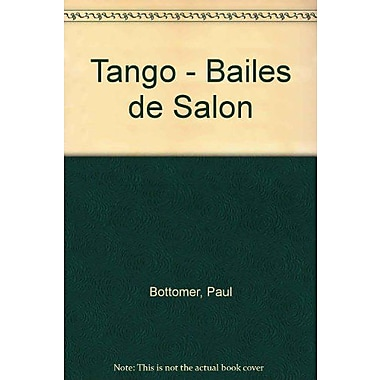 Tango - Bailes de Salon (Spanish Edition), Used Book (9788430587797)