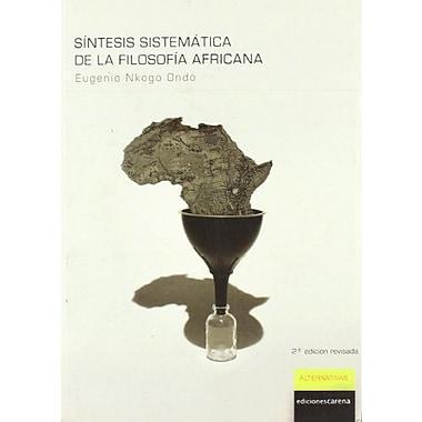 Síntesis sistemAtica de la filosofía africana (Spanish Edition), Used Book (9788496357259)