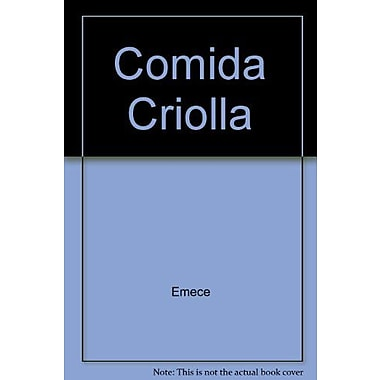 Comida Criolla (Spanish Edition), Used Book (9789500425827)