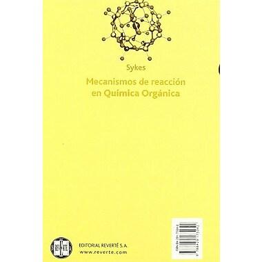 Mecanismos de reacción en química orgAnica (Spanish Edition), New Book (9788429175042)