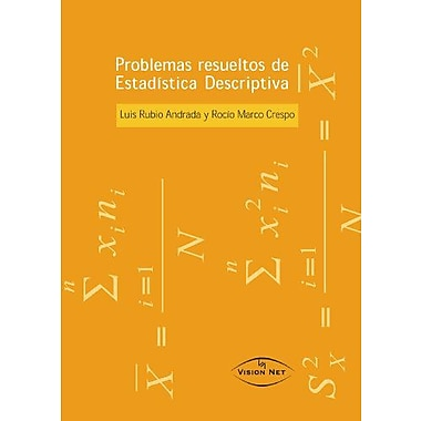 Problemas Resueltos Estadistica Descriptiva (Spanish Edition), New Book (9788497700030)