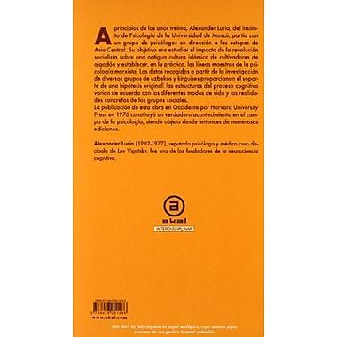 Desarrollo historico de los procesos cognitivos / Historical Development of Cognitive Processes(Univer, New Book (9788476001486)
