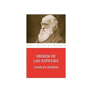 Origen de las especies / Origin of Species (Basica De Bolsillo) (Spanish Edition), New Book (9788476000182)
