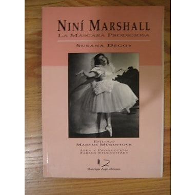 Nini Marshall: La mascara prodigiosa (Spanish Edition), Used Book (9789509517813)