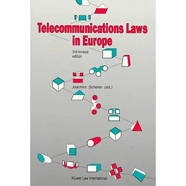 Telecommunications Law in Europe (9789041100283)
