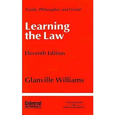 Learning the Law, Used Book (9788175340060)
