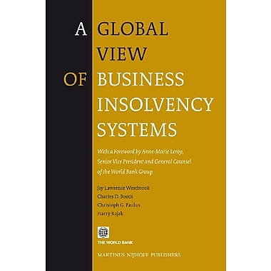 A Global View of Business Insolvency Systems, Used Book (9789004180253)