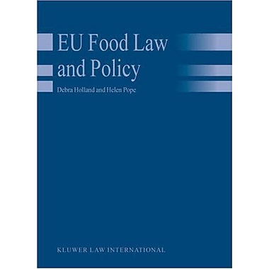 EU Food Law and Policy (9789041121240)