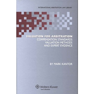 Valuation for Arbitration, New Book (9789041127358)