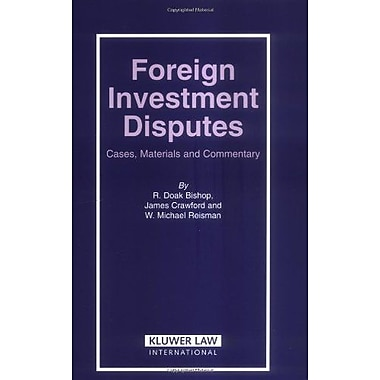Foreign Investment Disputes, New Book (9789041123114)