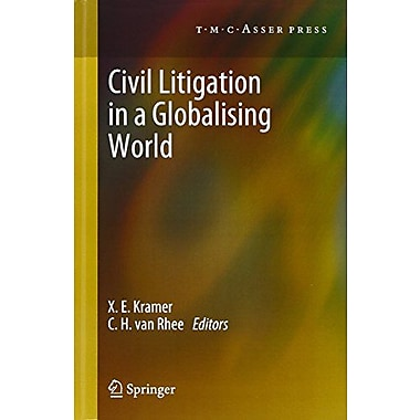 Civil Litigation in a Globalising World, Used Book (9789067048163)