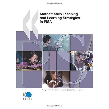 PISA Mathematics Teaching and Learning Strategies in PISA, New Book (9789264039513)
