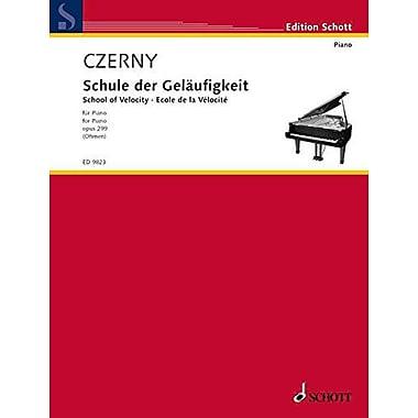 SCHOOL OF VELOCITY OP299 PIANO, New Book (9783795795771)
