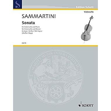 SONATA IN G MAJOR VIOLONCELLO AND PIANO, Used Book (9783795795436)