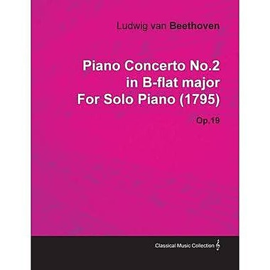 PIANO CONCERTO NO2 OP19 B FLAT MAJOR STUDY SCORE, New Book (9783795766436)