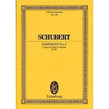 Symphony No. 6 in C Major, D 589: Study Score (9783795761417)