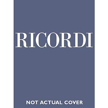 Il barbiere di Siviglia: Vocal Score (Ricordi Opera Vocal Score), New Book (9788875925178)