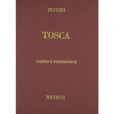 Tosca Vocal Score Cloth IT/EN Revised Edition Based on Original Sources, Used Book (9788875925086)