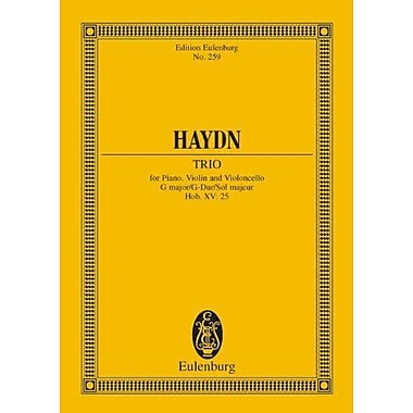 Haydn: Trio for Piano, Violin and Violoncello, G major with Rondo all'Ongarese, Hob. XV: 25, Used Book (9783795769802)