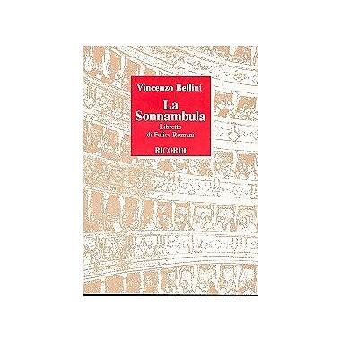 La Sonnambula it Lib (I Libretti d'opera) (Italian Edition) (9788875920807)