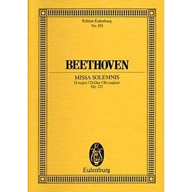 Missa Solemnis, Op. 123: in D Major Study Score, Used Book (9783795761202)