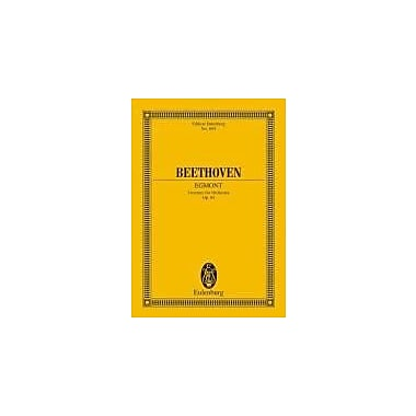 EGMONT OVERTURE OP84 STUDY SCORE (Edition Eulenburg), Used Book (9783795766627)