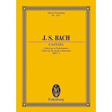 CANTATA CHRIST LAG IN TODESBANDEN BWV 4, New Book (9783795768904)