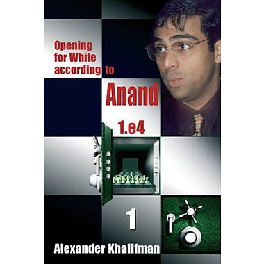 Opening for White according to Anand 1.e4, Volume 1 (Repertoire Books), New Book (9789548782326)