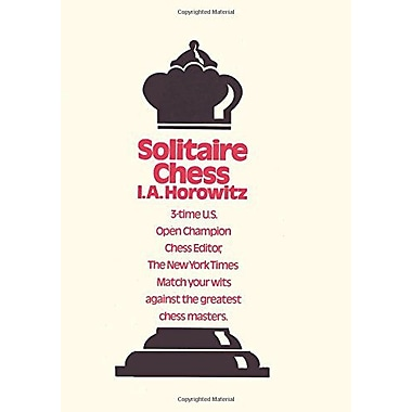 Solitaire Chess, Used Book (9784871878234)