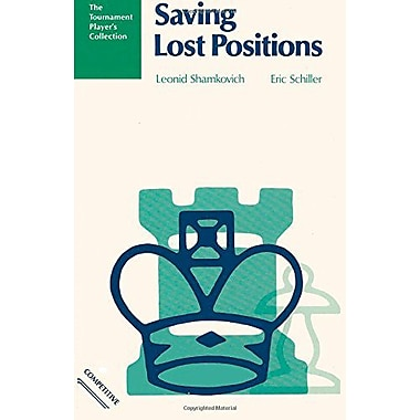 Saving Lost Positions: A Chess Works Publication, New Book (9784871874410)