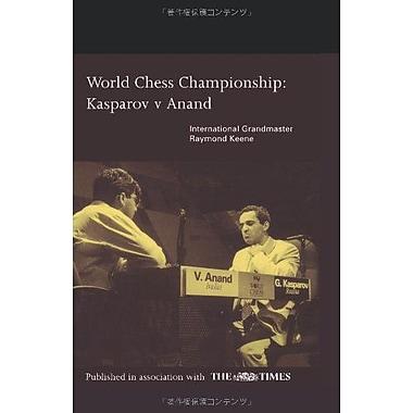 World Chess Championship: Kasparov v Anand, Used Book (9784871878616)