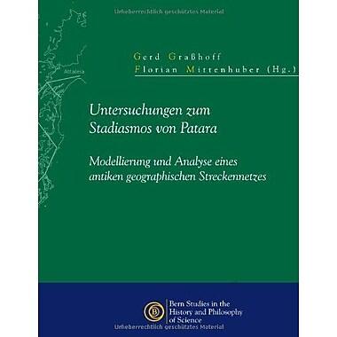 Untersuchungen Zum Stadiasmos Von Patara (German Edition), Used Book (9783952342152)