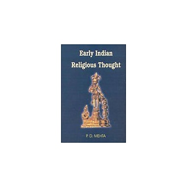 Early Indian Religious Thought, Used Book (9788180901188)