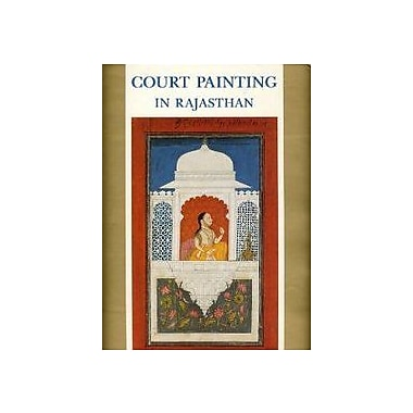Court Painting in Rajasthan, Used Book (9788185026473)