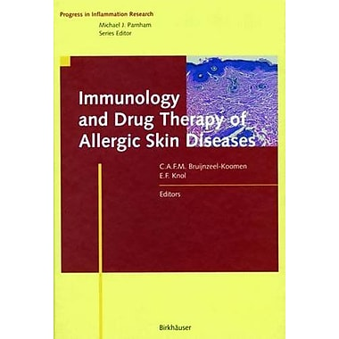 Immunology and Drug Therapy of Allergic Skin Diseases (Progress in Inflammation Research), New Book (9783764359706)