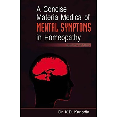 A Concise Materia Medica of Mental Symptoms in Homeopathy, Used Book (9788180567384)