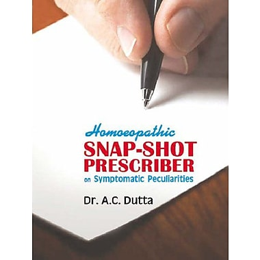 Homoeopathic Snap Shot Prescriber, Used Book (9788170212294)