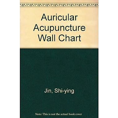 Auricular Acupuncture Point Wall Chart (English-Chinese) (9787117079952)