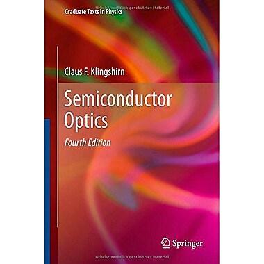 Semiconductor Optics (Graduate Texts in Physics), New Book (9783642283611)