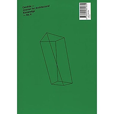 Candide 4: Journal for Architectural Knowledge, New Book (9788492861835)